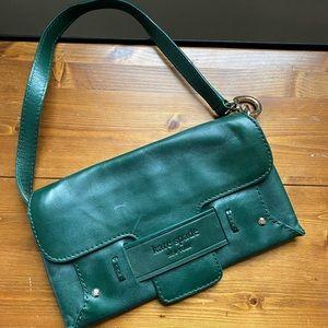 Kate Spade green leather purse